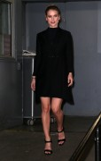 "Alice Eve -                          Leaving ""HuffPost Live"" New York City April 11th 2016."