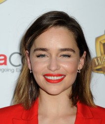 "Emilia Clarke - CinemaCon 2016 Warner Bros. Pictures Invites You to ""The Big Picture"" in Las Vegas 4/12/16"