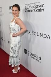 Emilia Clarke - Sean Parker and The Parker Foundation Celebrate Milestone Event in Medical Research 4/13/16