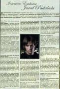 Интервью Дженсена для журнала Series, # 6