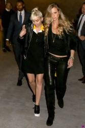 Miley Cyrus - Leaving Baltaire restaurant in LA 4/11/16