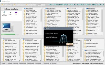 DG Win&Soft Gold Soft Pack 2016 v.6.6 (MULTI/RUS) - Самый отборный софт!