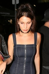 Bella Hadid - At The Nice Guy in West Hollywood 4/20/16