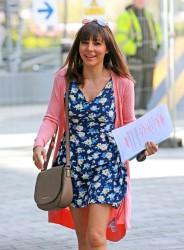 Roxanne Pallett arrives at Media City in Manchester, England x9