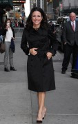 Julia Louis-Dreyfus - Outside 'The Late Show with Stephen Colbert' in NYC 4/21/2016