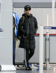 Katy Perry - Arriving At JFK Airport - NYC - April 28 2016