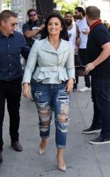 Demi Lovato - Filming in LA 4/28/16