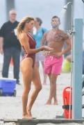 "Kelly Rohrbach | On the Set of ""Baywatch"" in Savannah 