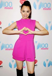 Sofia Carson visits radio station Y100 in Miami x16