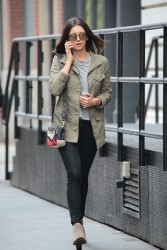 Nina Dobrev - Out in NYC 5/3/16