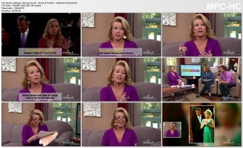 MELODY THOMAS SCOTT *cleavage* interview on Home & Family (4 Feb 2014