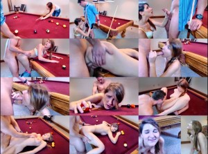 Pool Table Fuck With Sister