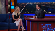 Kaley Cuoco @ The Late Show with Stephen Colbert | May 9 2016