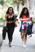 Vanessa & Stella Hudgens - Out in West Hollywood 5/13/16