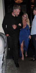 Jessica Simpson - Seriously Major Cleavage Out A Date In Beverly Hills (5/14/16)