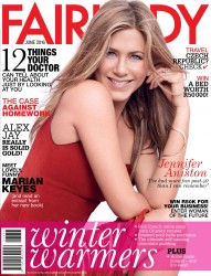 Jennifer Aniston -          Fairlady Magazine June 2016.