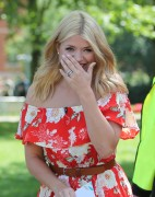 Holly Willoughby -             Outside ITV Studios London May 26th 2016.