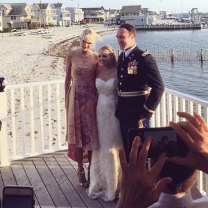 Taylor Swift - at a fan's wedding in Brant Beach, New Jersey - 06/04/16