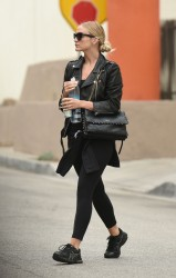 Ashlee Simpson - Leaving the gym in West Hollywood 6/6/16