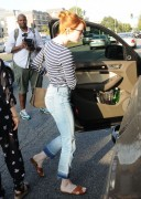 Emma Stone - Leaving Meche Salon in West Hollywood 6/8/16