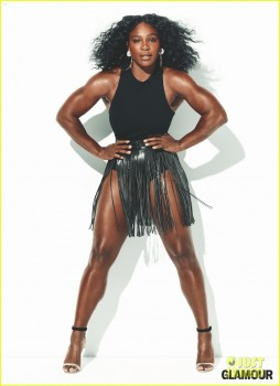 Serena Williams Chubby Pictures
