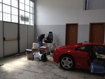 Ferrari 348 TB ripristino interni in pelle B4cd4f489040098