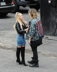 Kelli Berglund and her BF in a PDA in Los Angeles x36