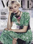 Mia Wasikowska -                     Vogue Magazine (Australia) July 2016  Nicole Bentley Photos.