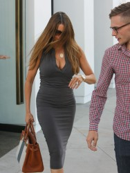 Sofia Vergara - Cleavage While Out And About in Los Angeles (6/15/16)