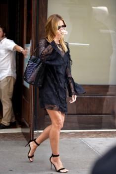 Heidi Klum - Leaving Her Hotel in New York (6/17/16)