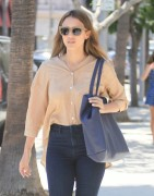Jessica Alba - Out for lunch in Beverly Hills 6/20/16
