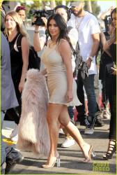Kim Kardashian - Arriving at The Forum in LA 6/24/16