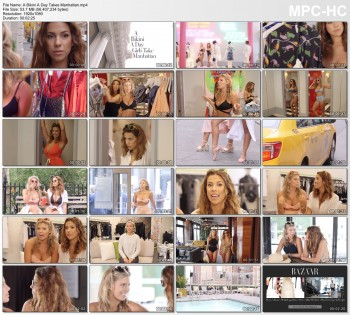 Devin Brugman and Natasha Oakley SPFL 2016 Exclusive -- A Bikini A Day Takes Manhattan -- 1080p HD