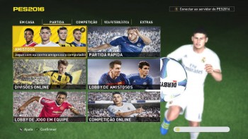 PES 2016 Menu FIFA 17 Style by Pedro Henrique