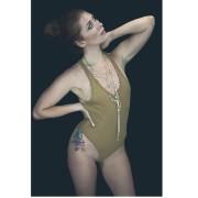 Jewel Staite - Torquille De Jonge Swimsuit Photoshoot from Instagram 29.6.2016