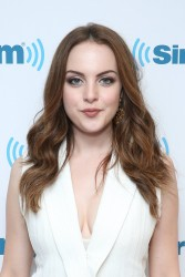 Elizabeth Gillies - At Sirius XM Offices 6/29/16