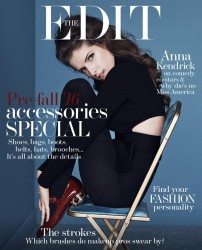 Anna Kendrick - The Edit Magazine June 2016