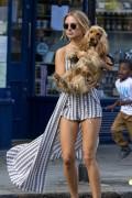 Kimberley Garner | Walking the Dog in London | July 5 | 48 pics
