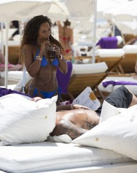 Melanie Brown - More Swimsuit Pics While Vacationing In Ibiza (7/6/16)
