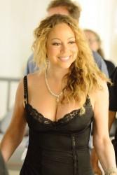 Mariah Carey - In A Slip-dress With Her Fiance in Capri (7/7/16)