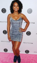Christina Milian - Busty In a Mini-dress On The Pink Carpet At BeautyCon (7/9/16) x11UHQ