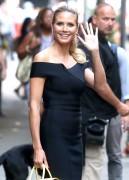 "Heidi Klum -                       ""Good Morning America"" New York City July 12th 2016."