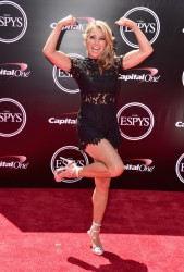 Denise Austin  attend the 2016 ESPYS 7/13/16