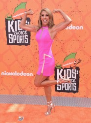 Denise Austin - Nickelodeon Kids' Choice Sports Awards 7/14/16