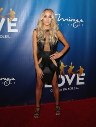 "Nastia Liukin - 10th anniversary celebration of ""The Beatles LOVE by Cirque du Soleil"" 7/14/16"