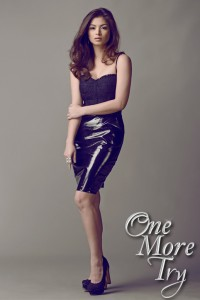 angel locsin - one more try poster