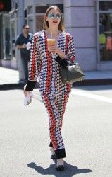 Jaime King out in Beverly Hills x8