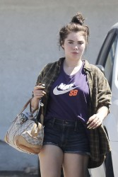 McKayla Maroney in shorts leaving an acupuncture clinic in LA x23