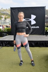 Lindsey Vonn - Spandex Workout in West Hollywood (7/12/16)