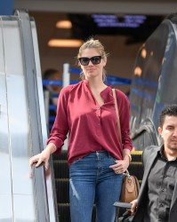 Kate Upton - At LAX Airport 7/15/16